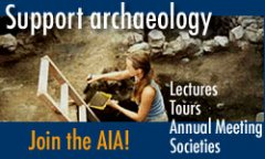 Button to join the Archaeological Institute of America