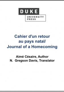 Journal of a Homecoming/Cahier d'un Retour au Pays Natal